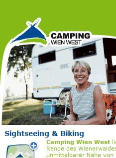 Screenshot von Camping Wien